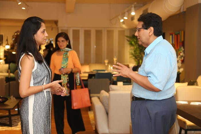 Priyanka Taparia, Mr. Dilip Piramal